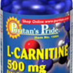 Puritan's Pride L-carnitine