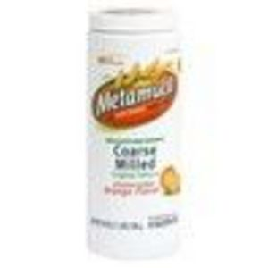 Metamucil Coarse Milled Original Texture Orange Flavor Fiber Supplement Powder