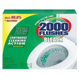 WD-40 2000 Flushes Bleach Automatic Bowl Cleaner