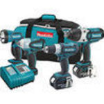 Makita (MAKLXT421) 18 Volt LXT Lithium Ion Automotive Combo Kit # LXT421