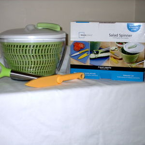 Mainstays 2qt Salad Spinner