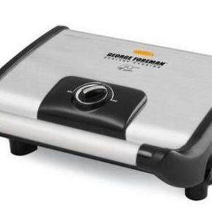 George Foreman Vari-Temp Electric Grill