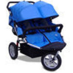 X-Tech Outdoors CityX3 Twin - Blue Jogger Stroller