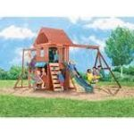 Big Backyard Ridgeview Wood Gym/Swing Set