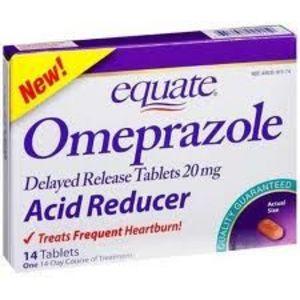 Equate Omeprazole Delayed Release Tablets 20Mg Acid Reducer