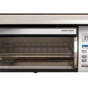 Black & Decker SpaceMaker 4-Slice Digital Toaster Oven
