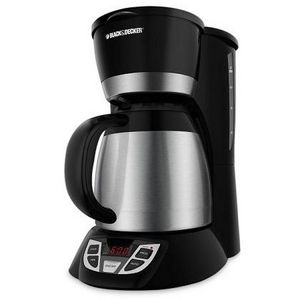 Black & Decker 8-Cup Thermal Programable Coffee Maker