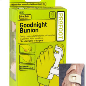 Profoot Goodnight Bunion Reviews Viewpoints Com