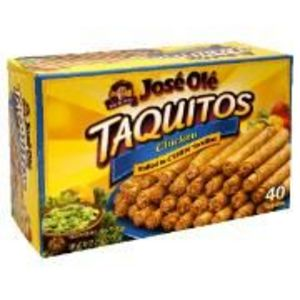 Jose Ole Chicken Taquitos Corn Tortillas