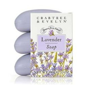 Crabtree & Evelyn Lavender Triple Milled Soap
