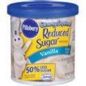 Pillsbury Creamy Supreme Reduced Sugar Frosting - Vanilla