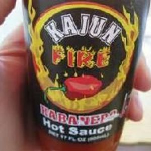 Kajun Fire Habenero Hot Sauce