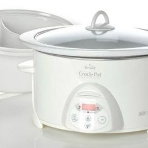 Rival 6.5-Quart Duet Digital Crock Pot