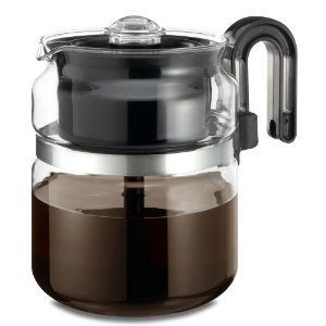 Medelco Cup Glass Stovetop Percolator