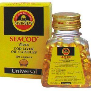 Seven Seas Seacod Cod Liver Oil Capsules
