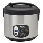 Aroma 20-Cup Digital Cool-Touch Rice Cooker ARC-1010SB