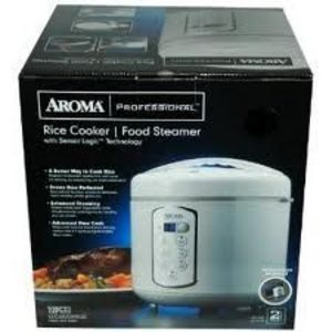Aroma 3-Quart Rice Cooker & Food Steamer with Sensor Logic Technology