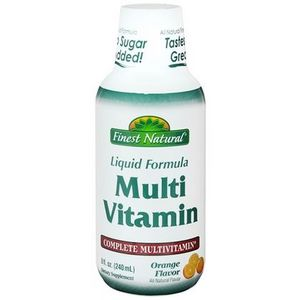 Finest Natural Liquid Formula Multi Vitamin