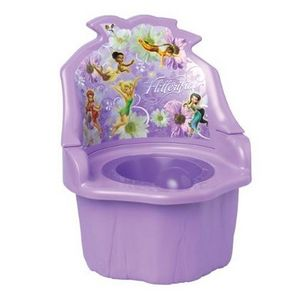 Ginsey Disney Fairies in 1 Potty Chair