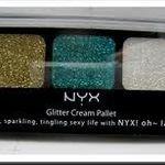 NYX Glitter Cream Palette
