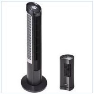 Seville Eco Speed Ultra Slimline Tower Fan/Personal Fan Combo