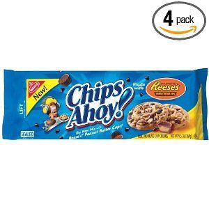 Nabisco - Chips Ahoy! made with Reese's Peanut Butter Cups