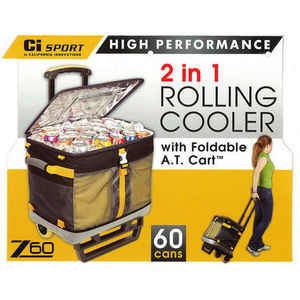 CI Sport Rolling Cooler