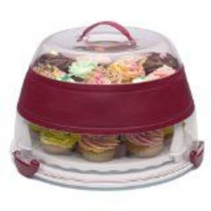 Progressive International Collapsible Cupcake & Cake Holder