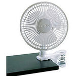 Lasko 6-Inch Speed White Clip Fan