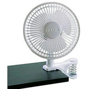 Lasko 6-Inch Speed White Clip Fan