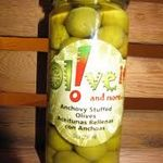 The Olive Oil Shops Anchovy Stuffed Olives