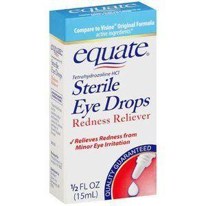 Equate Original Redness Reliever Eye Drops