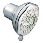"Moen Replenish three-function 3"" diameter standard showerhead"