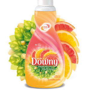 Ultra Downy Simple Pleasures Citrus Spice Glow Fabric Softener