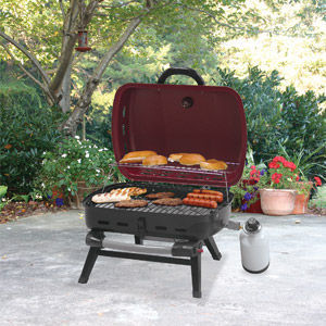 UniFlame 10,000 BTU Portable Grill (Red Sedona)