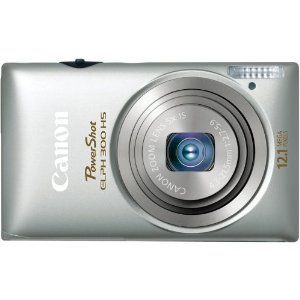 Canon - PowerShot ELPH 300 HS Digital Camera