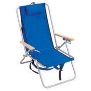 Mainstays Adjustable Backpack Beach Chair