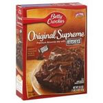 Betty Crocker Original Supreme Premium Brownie Mix with Hershey's Syrup Pouch