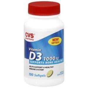CVS Vitamin D3 2000 IU