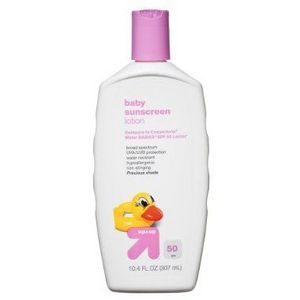 up & up Baby Sunscreen Lotion