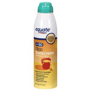 Equate Kids Sunscreen Spray SPF 50