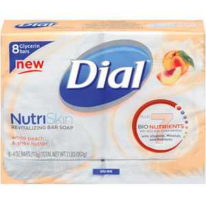 Dial Glycerin Soap with White Peach & Shea Butter