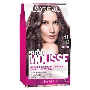 L'Oreal Paris Healthy Look Sublime Mousse, Iced Dark Brown #41