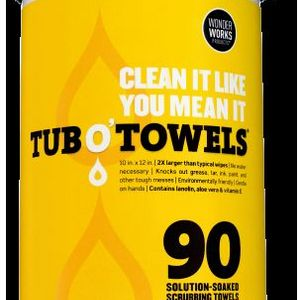 Tub O' Towels Solution-Soaked Towels