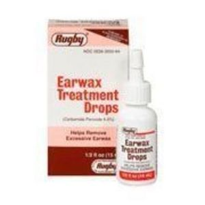 Rugby Earwax Treatment Drops