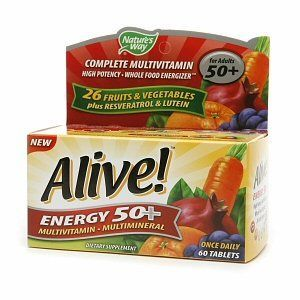 Nature's Way Alive Energy 50+ Multi-Vitamin