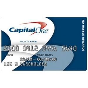 Capital One - No Hassle Cash Rewards MasterCard