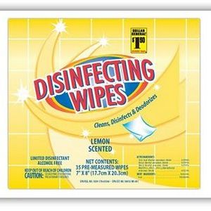 Dollar General Disinfecting Toilet Wipes