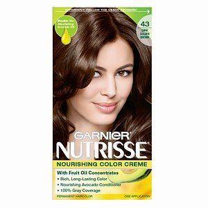 Garnier Nutrisse Permanent Creme Haircolor