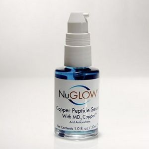 NuGlow Copper Peptide Serum with MD3 Copper & Antioxidants